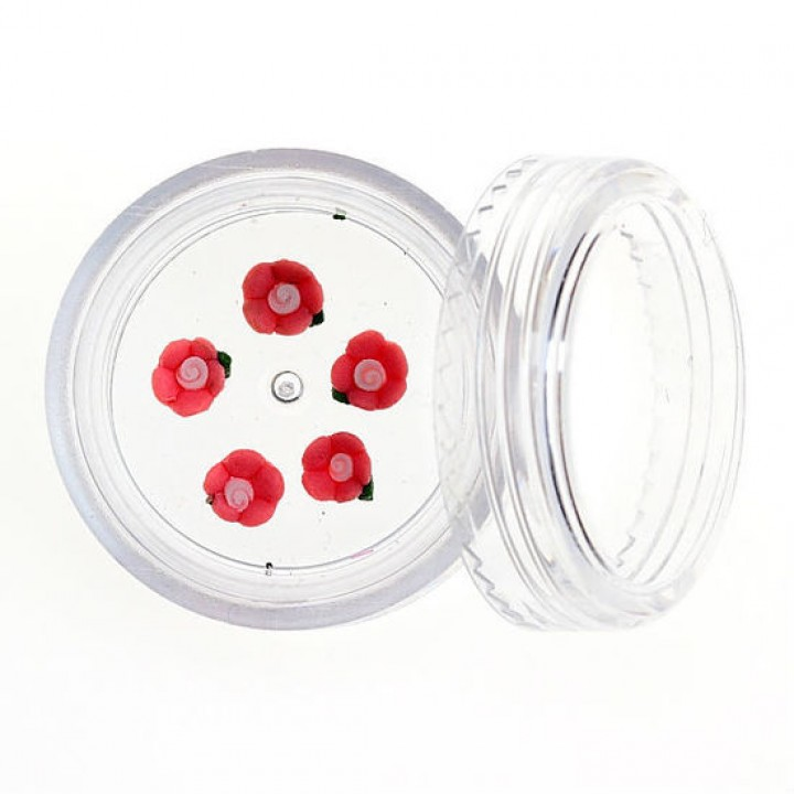 Акриловая лепка Роза №01