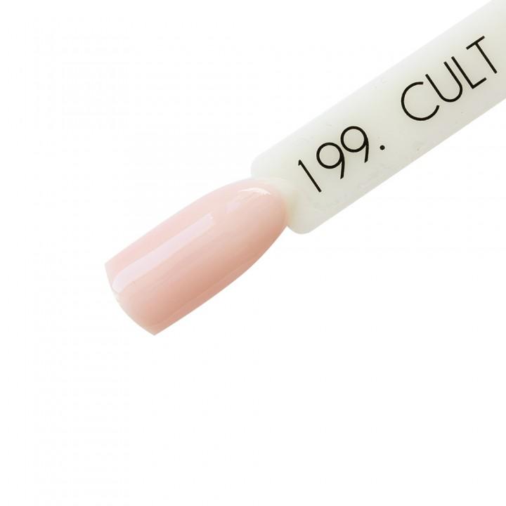 Камуфлирующая каучуковая база для ногтей Cult №199