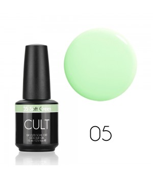 Гель лак CULT №05 Soft Green 15 мл