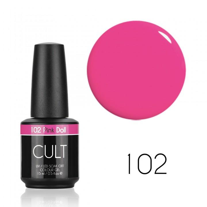 Гель лак для ногтей CULT №102 Pink Doll
