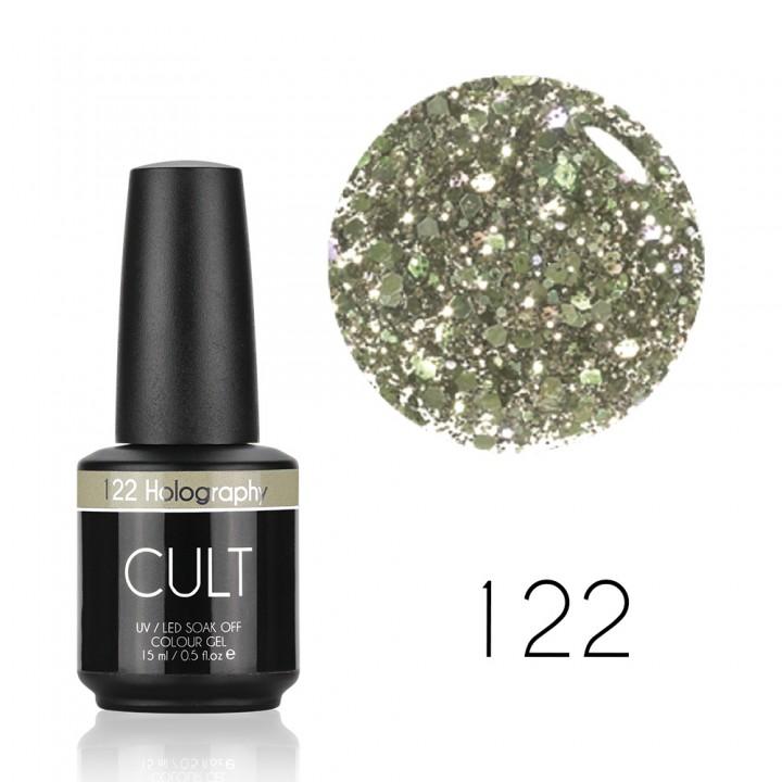 Гель лак для ногтей CULT №122 Holography