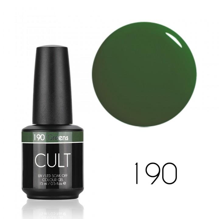Гель лак для ногтей CULT №190 Greens