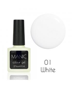Гель лак MANIC №01 White