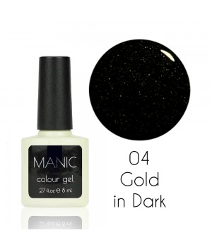 Гель лак MANIC №04 Gold in Dark