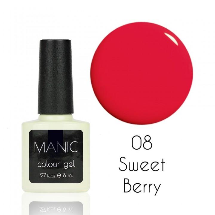 Гель лак для ногтей MANIC №08 Sweet Berry