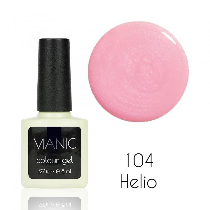 Гель лак для ногтей MANIC №104 Helio
