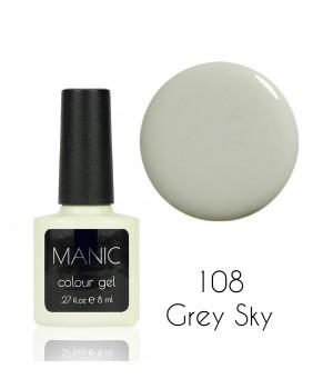 Гель лак MANIC №108 Grey Sky