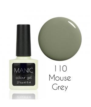 Гель лак MANIC №110 Mouse Grey
