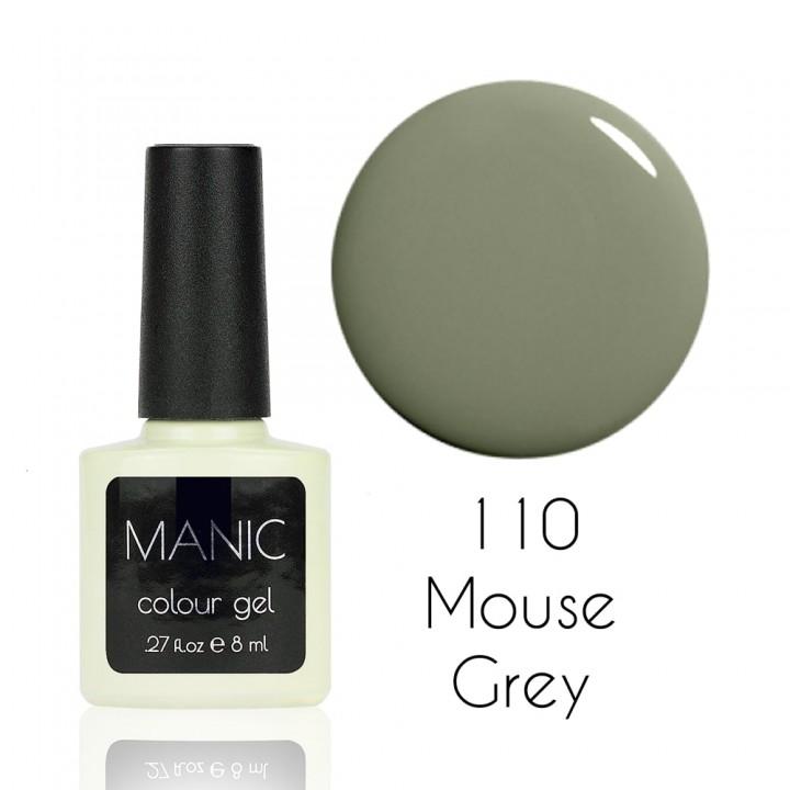 Гель лак для ногтей MANIC №110 Mouse Grey