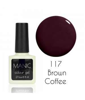 Гель лак MANIC №117 Brown Coffee
