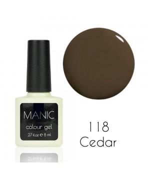 Гель лак MANIC №118 Cedar
