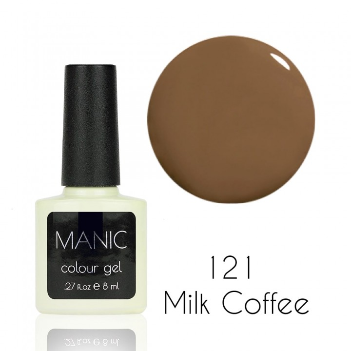 Гель лак для ногтей MANIC №121 Milk Coffee