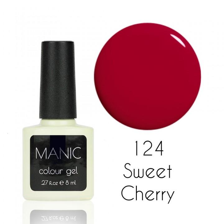 Гель лак для ногтей MANIC №124 Sweet Cherry