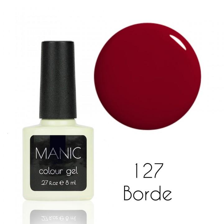 Гель лак для ногтей MANIC №127 Borde