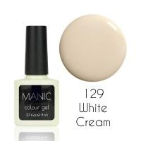Гель лак MANIC №129 White Cream