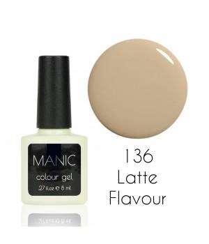 Гель лак MANIC №136 Latte Flavour