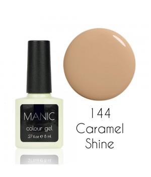 Гель лак MANIC №144 Caramel Shine