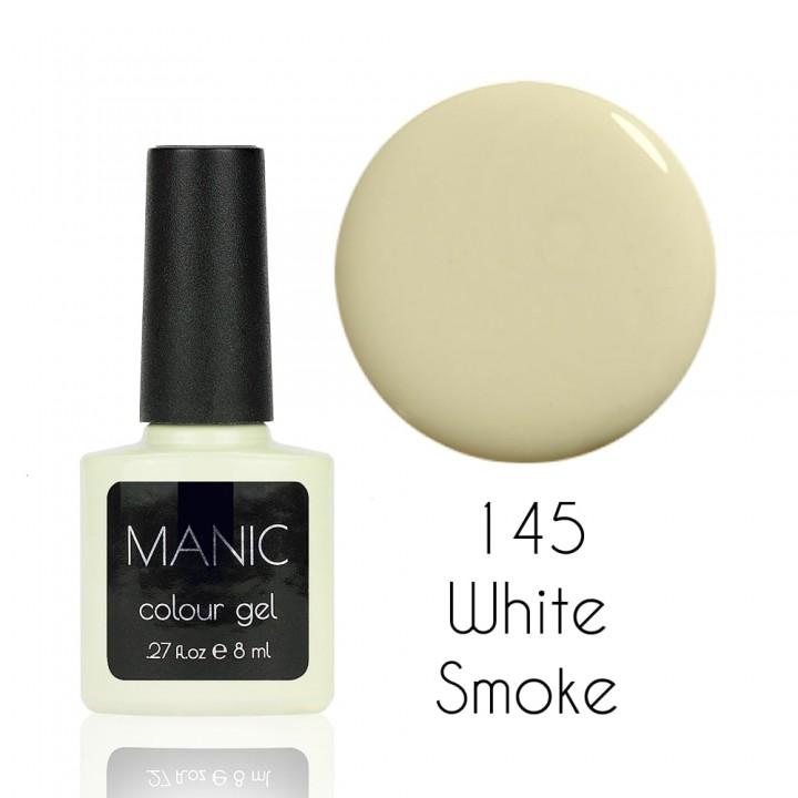 Гель лак для ногтей MANIC №145 White Smoke