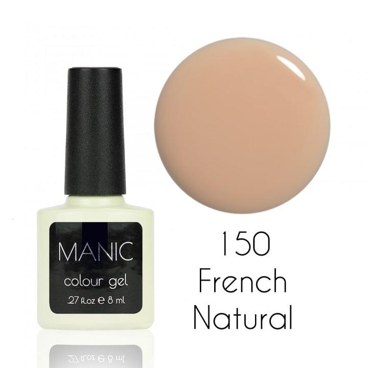 Гель лак для ногтей MANIC №150 French Natural