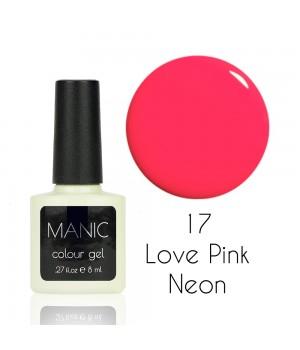 Гель лак MANIC №17 Love Pink Neon