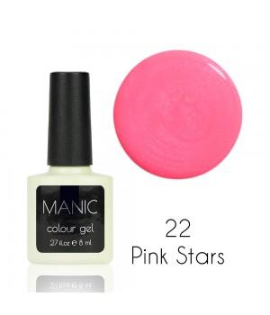 Гель лак MANIC №22 Pink Stars
