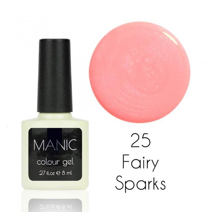 Гель лак для ногтей MANIC №25 Fairy Sparks