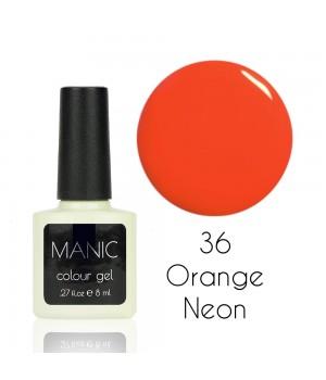 Гель лак MANIC №36 Orange Neon