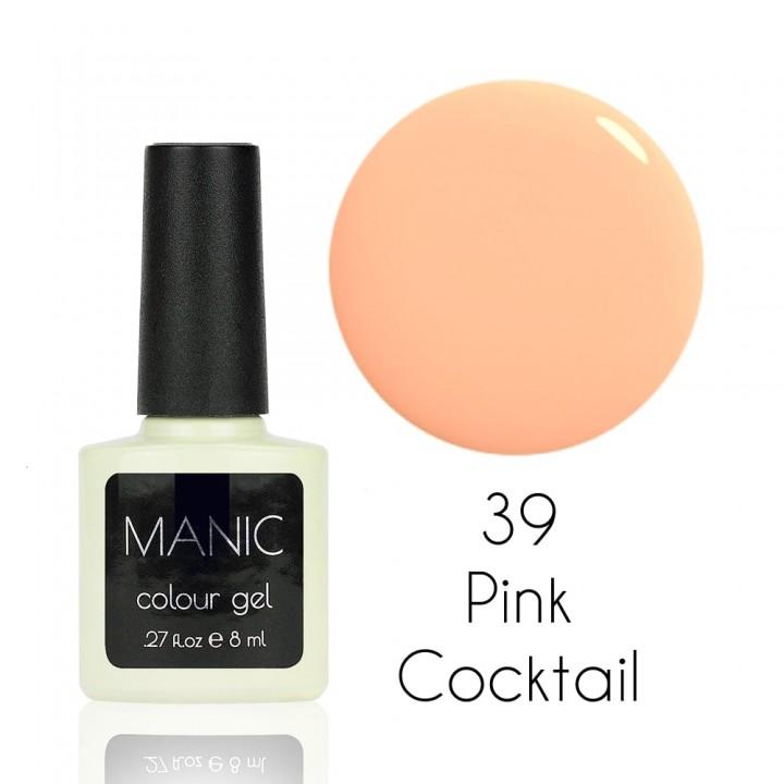 Гель лак для ногтей MANIC №39 Pink Cocktail