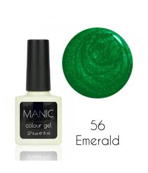 Гель лак MANIC №56 Emerald