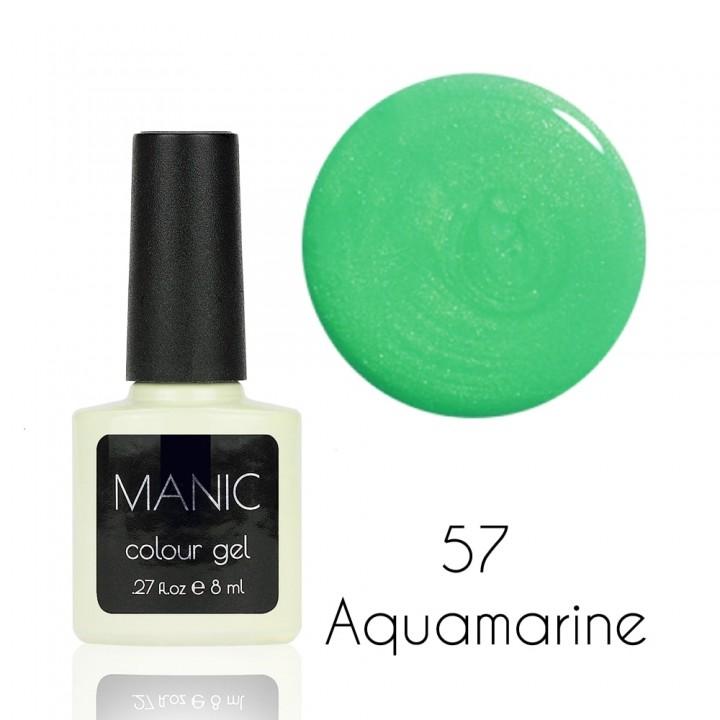 Гель лак для ногтей MANIC №57 Aquamarine