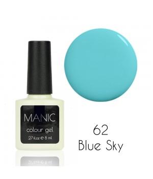 Гель лак MANIC №62 Blue Sky