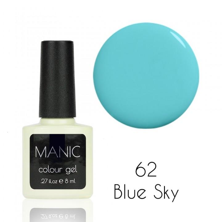 Гель лак для ногтей MANIC №62 Blue Sky