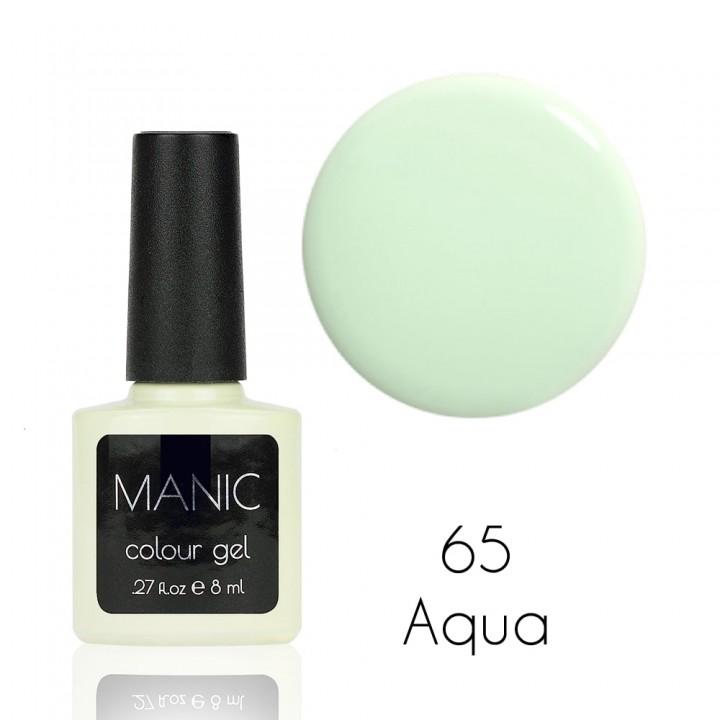 Гель лак для ногтей MANIC №65 Aqua