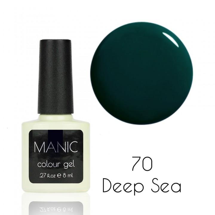 Гель лак для ногтей MANIC №70 Deep Sea