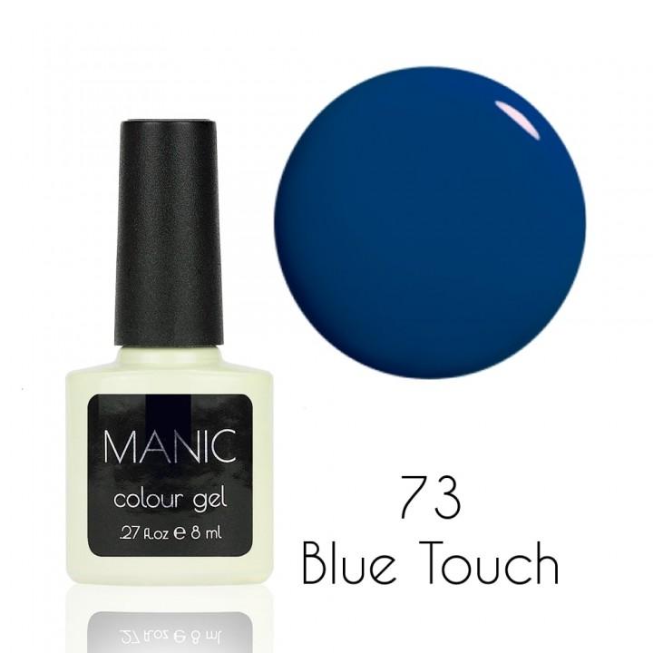 Гель лак для ногтей MANIC №73 Blue Touch