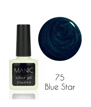 Гель лак MANIC №75 Blue Star