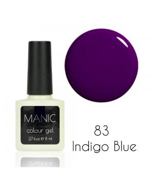 Гель лак MANIC №83 Indigo Blue