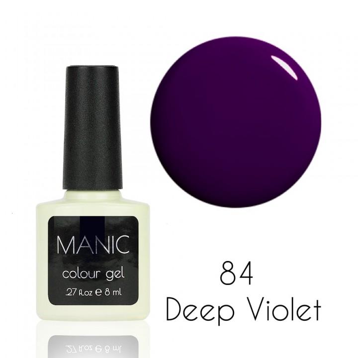 Гель лак для ногтей MANIC №84 Deep Violet