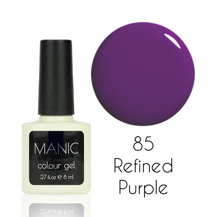 Гель лак для ногтей MANIC №85 Refined Purple