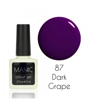 Гель лак MANIC №87 Dark Grape