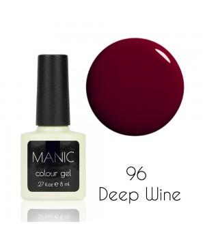 Гель лак MANIC №96 Deep Wine