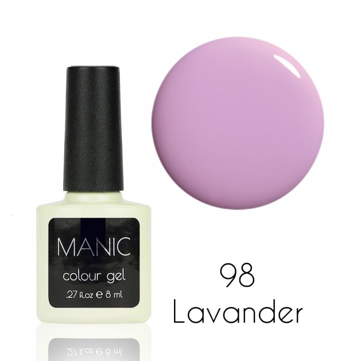 Гель лак для ногтей MANIC №98 Lavander