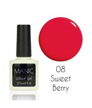 Гель лак MANIC №08 Sweet Berry 8 мл