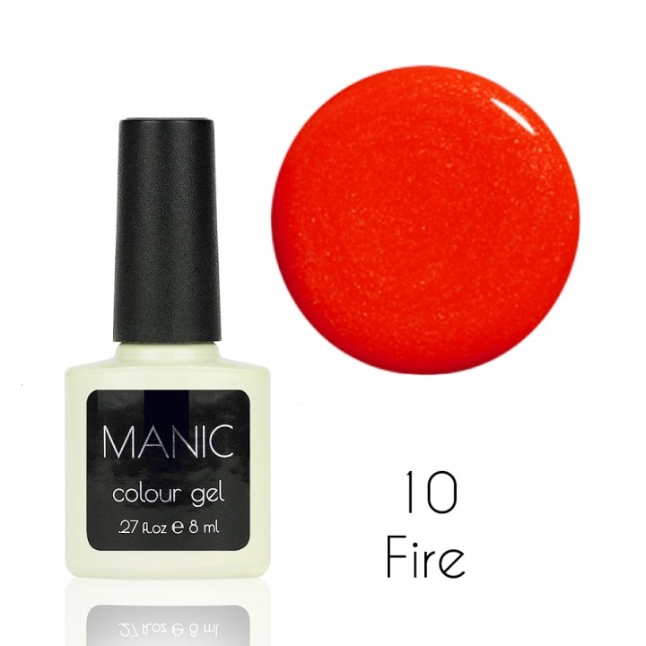 Гель лак для ногтей MANIC №10 Fire
