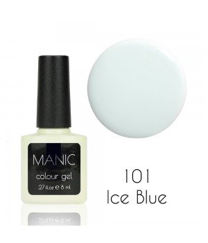 Гель лак MANIC №101 Ice Blue 8 мл