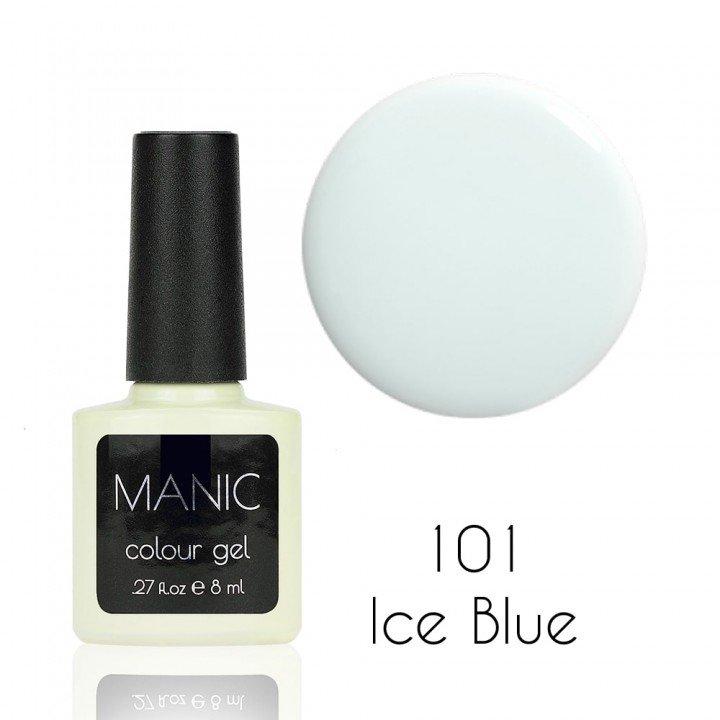 Гель лак для ногтей №101 Ice Blue White