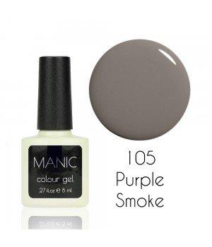 Гель лак MANIC №105 Purple Smoke 8 мл