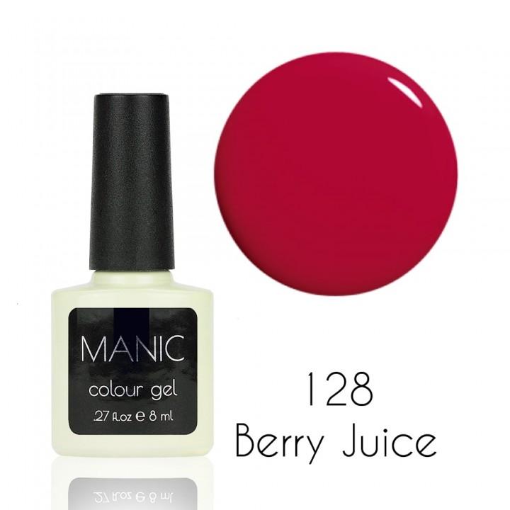 Гель лак для ногтей MANIC №128 Berry Juice
