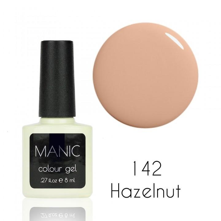 Гель лак для ногтей MANIC №142 Hazelnut