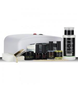 Стартовый набор для геля FOR YOU с UV лампой 36 Вт